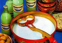Казахская кухня. Кумис