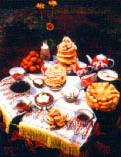 Казахская культура. Дастархан