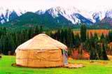 Казахские юрты. Фотографии Казахстана