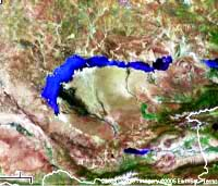 Озеро Балхаш. Природа Казахстана