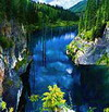 Kaindy river. Rivers & Lakes in Kazakhstan