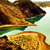 The Kapshagai Reservoir. Kazakhstan Rivers & Lakes