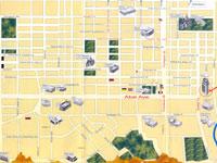 Туристическая карта Алматы