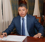 Minister of Tourism and Sports of the Republic of Kazakhstan Ermegiyayev Talgat Amangeldievich