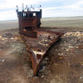 Travelling at the Aral Sea